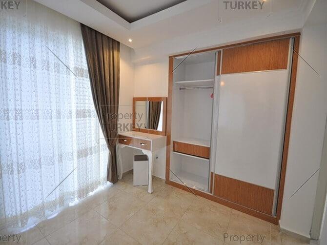 Bedroom with closet