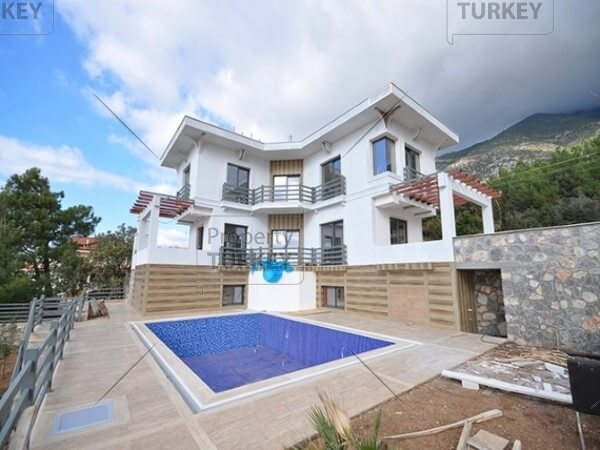 Ovacik mountain view villa for sale