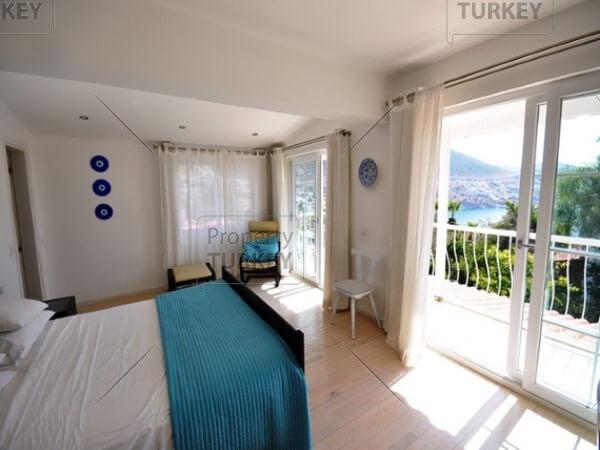 Spacious villas master room