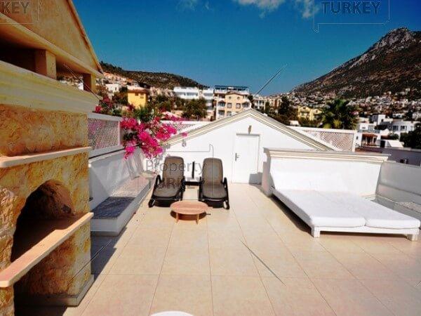 Terrace in the villa
