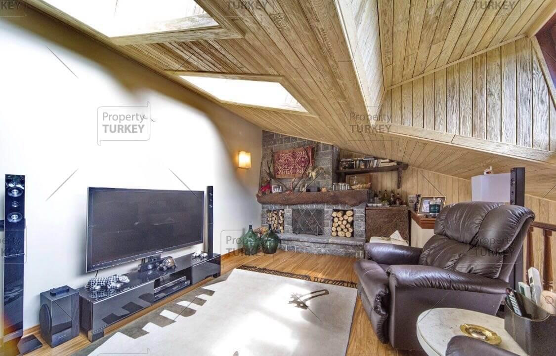 Relaxing tv room