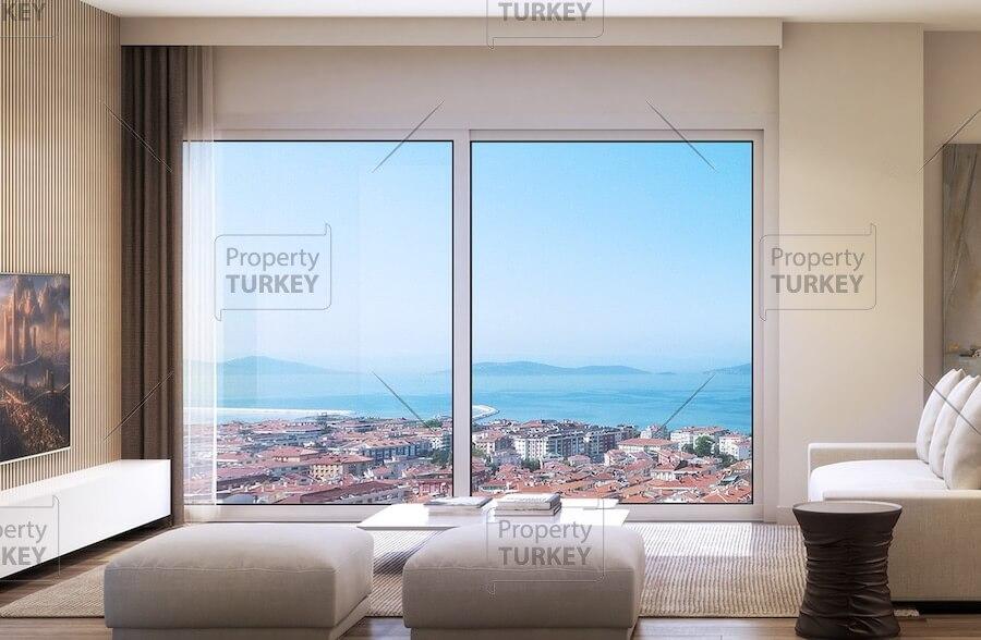 Istanbul Maltepe modern apartments for salr