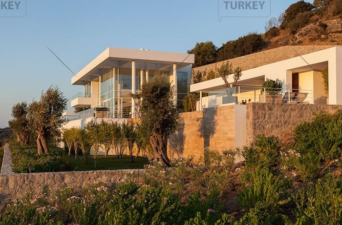 External look of the villa