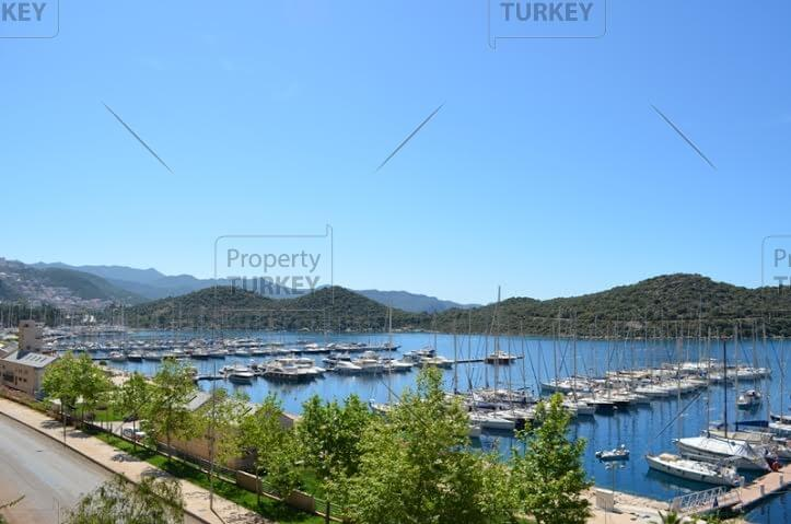 Marina views from villa in Kas