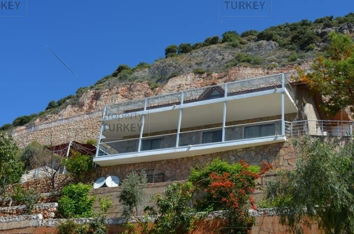 Villa with views in Kas