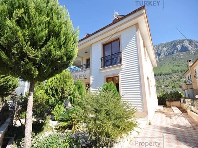 Uzumlu mountain view villa for sale