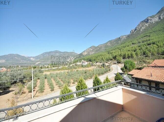 Villas terrace