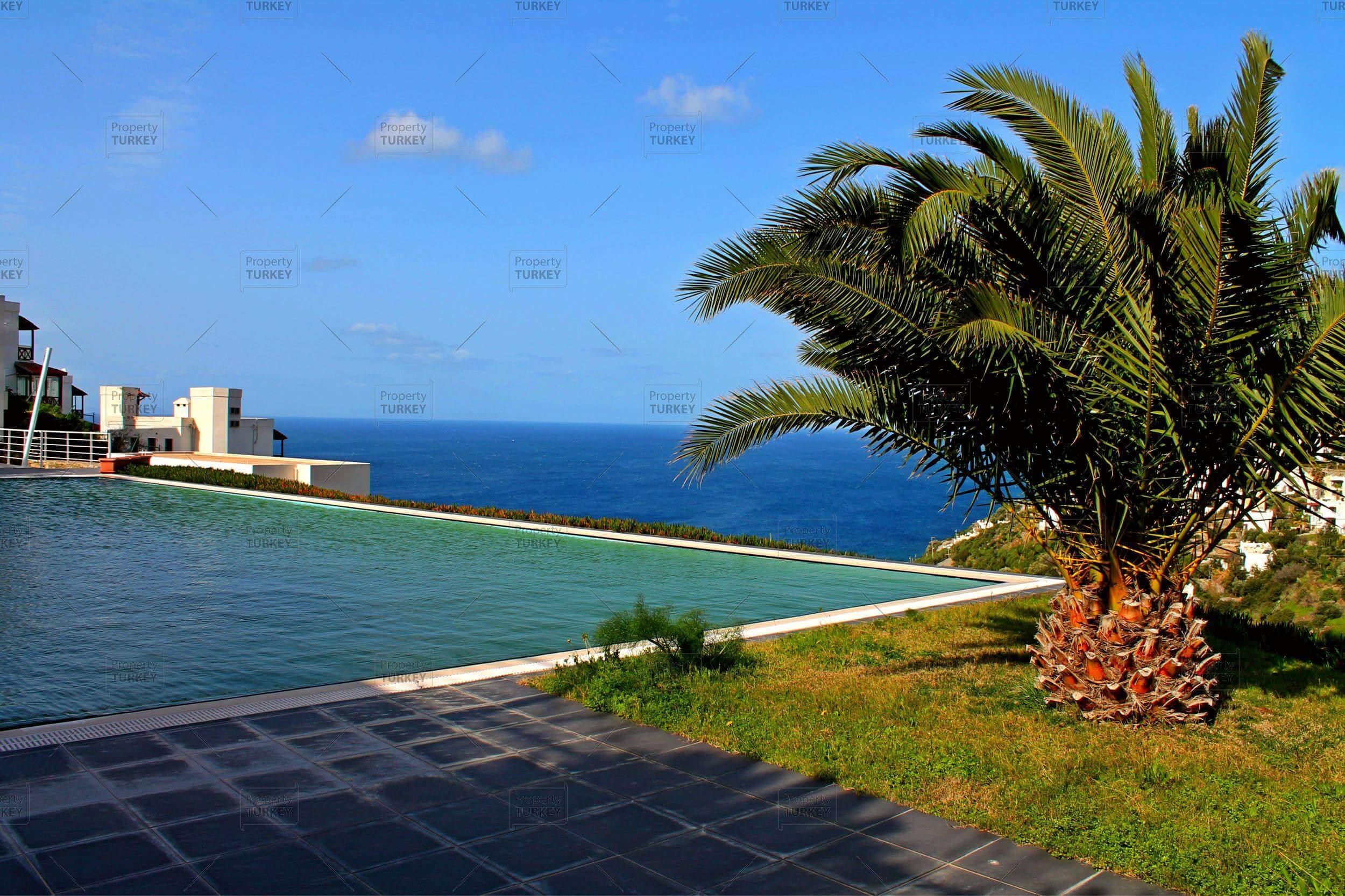 designer villa in yalikavak in luxury complex property turkey. Black Bedroom Furniture Sets. Home Design Ideas