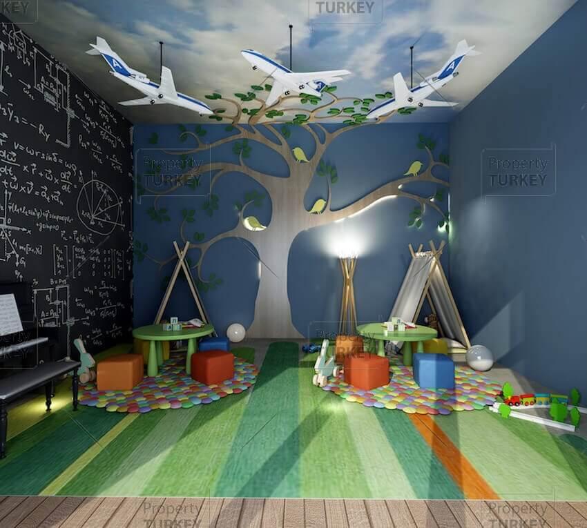 Indoor children's playground