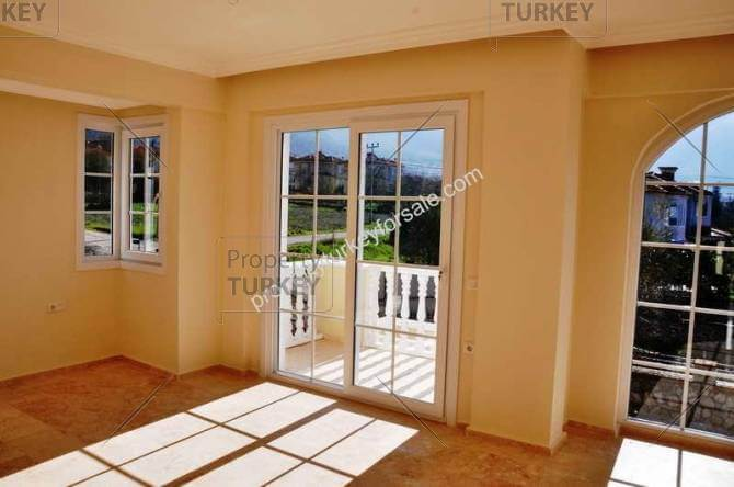 Large windows with great views