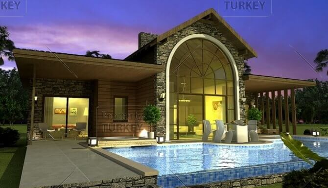 Ovacik Fethiye luxury bungalow for sale