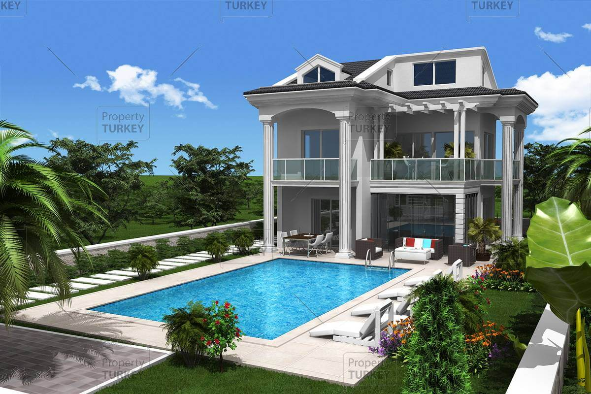 Modern fethiye property in ovacik for sale property turkey for Contemporary real estate for sale