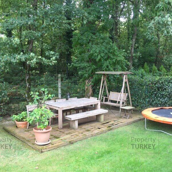 Gardens relaxing area