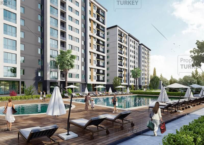 Modern residences for sale in Istanbul