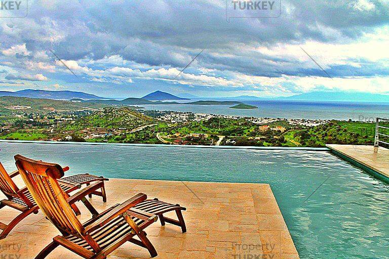 Amazing view Ortakent home