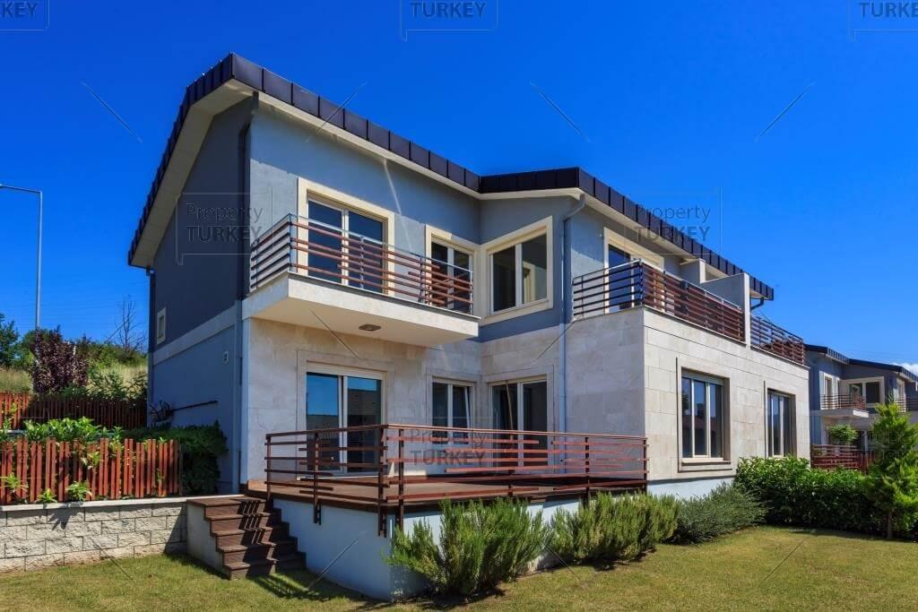 Residences exterior views