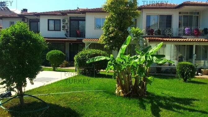 Green areas in the villa