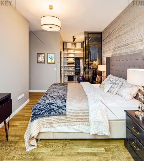 Residences spacious bedroom