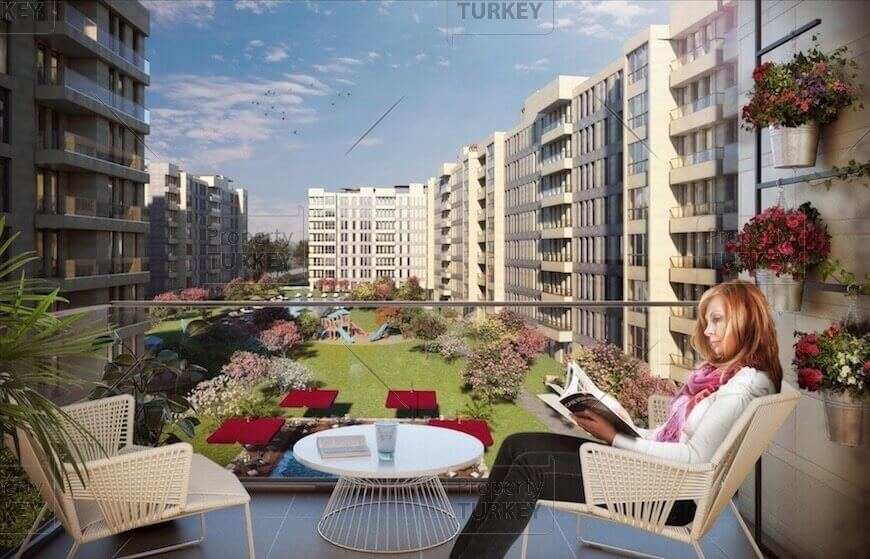 Istanbul Parisian apartments style for sale