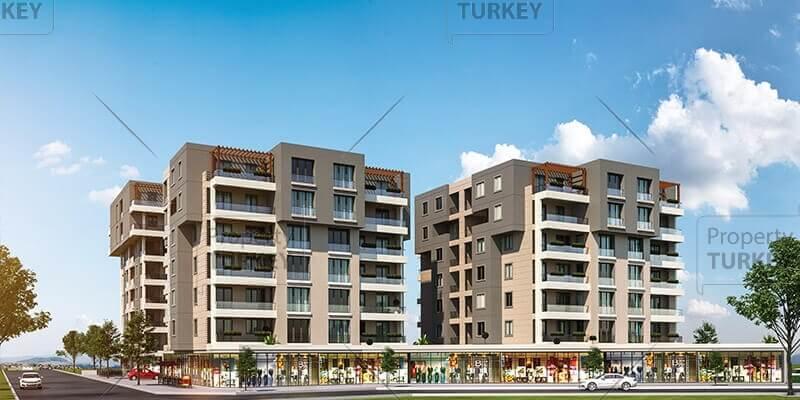 Apartments buildings