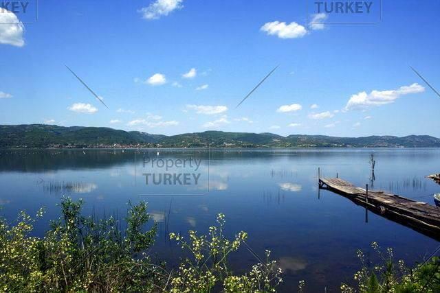 Istanbul lake in Sapanca
