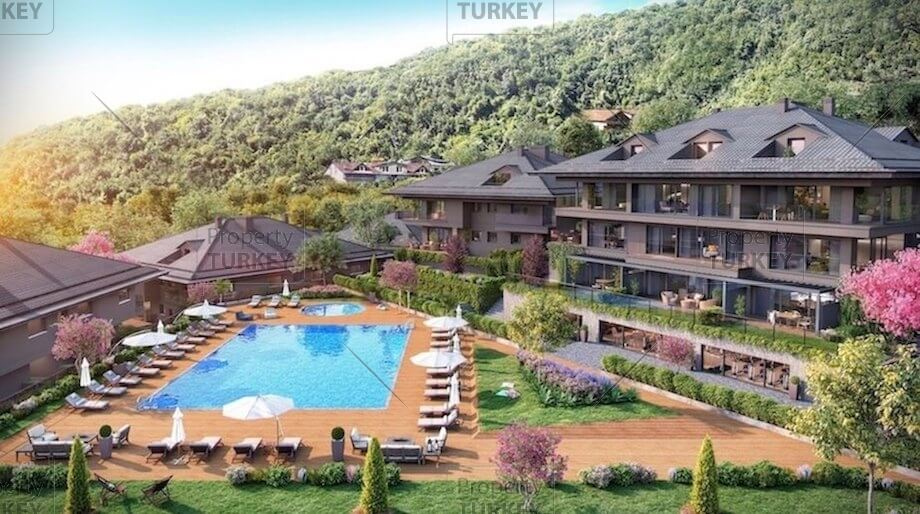 Stunning sea view residences for sale in Sariyer