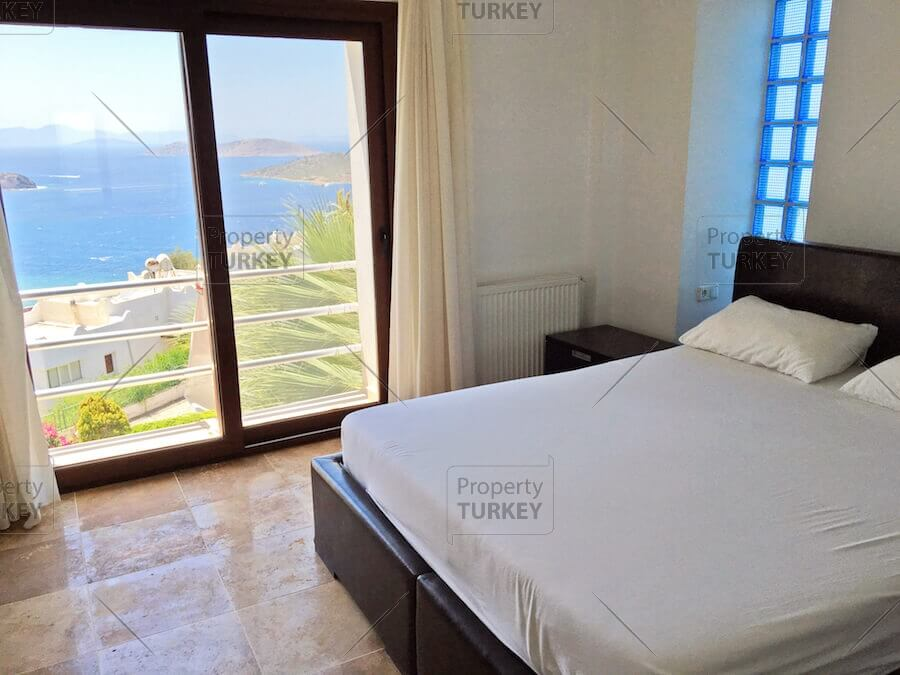 Yalikavak sea view bedroom