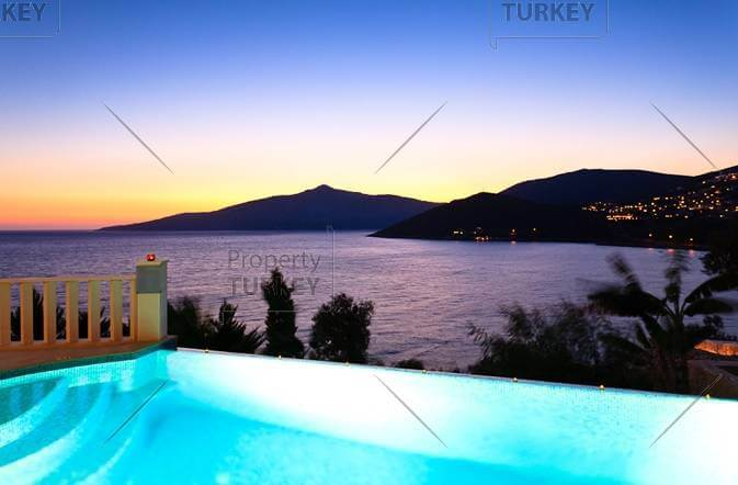 beautiful infinity pool and view