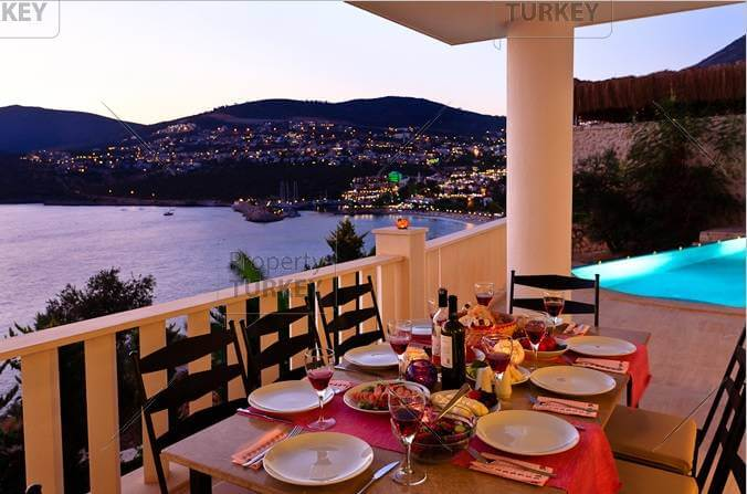 View over Kalkan lights