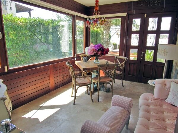 Villas conservatory