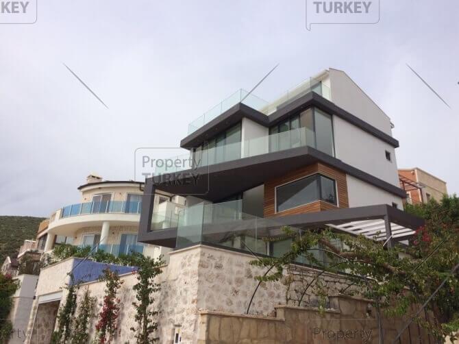 Seaview villa in Kalkan for sale