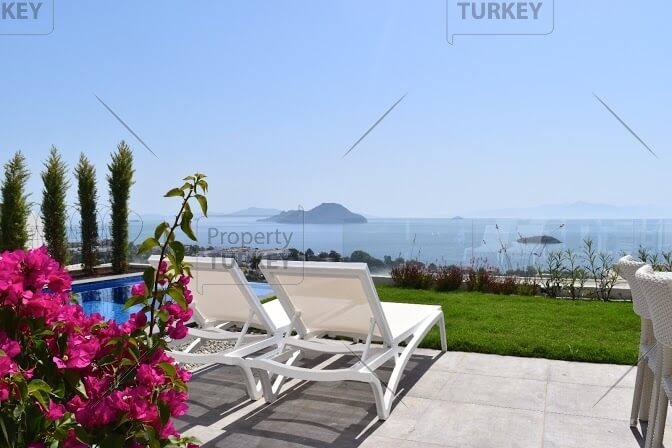 Kadikalesi villa with seviews for sale