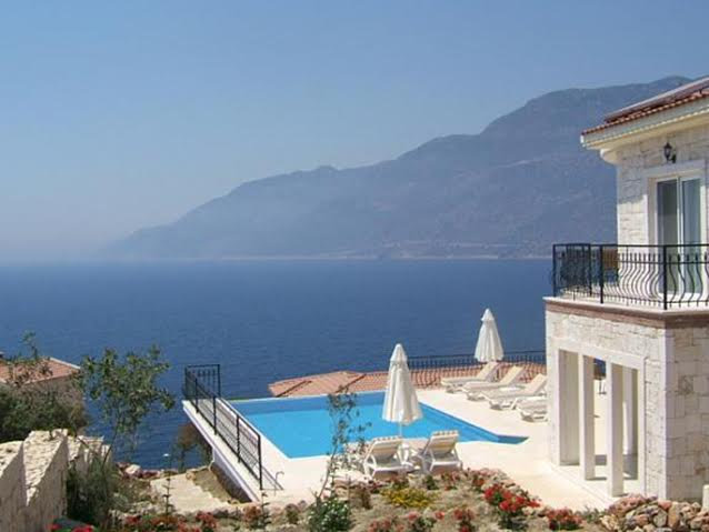 Villa in Kas with sea view for sale
