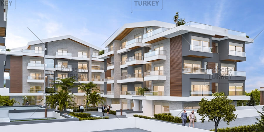 Panoramic Sea Views Apartments For Sale In Yalova