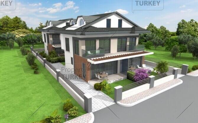 Modern family villa for sale in Akarca Fethiye
