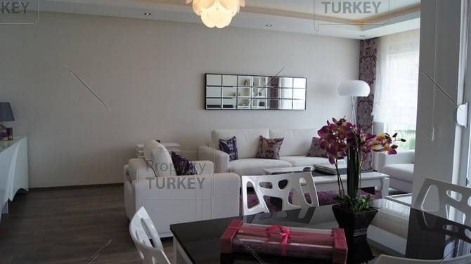 Furnished living area
