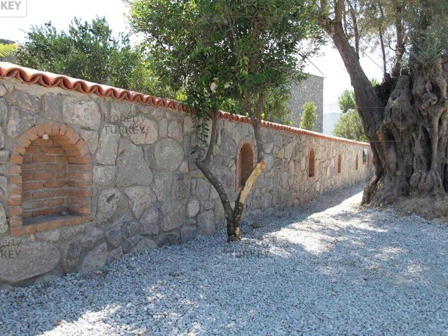 Exquisite stone house in the heart of bitez property turkey for Exquisite stone