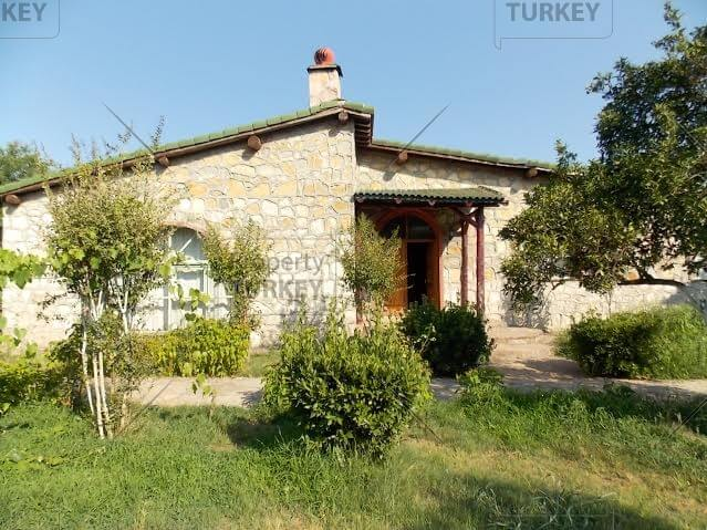 Antalya stone villa for sale