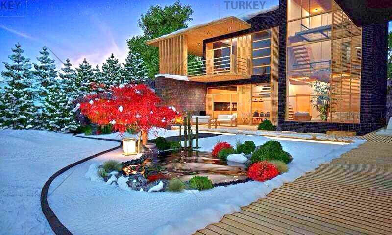 Stunning forest setting villa in Istanbul