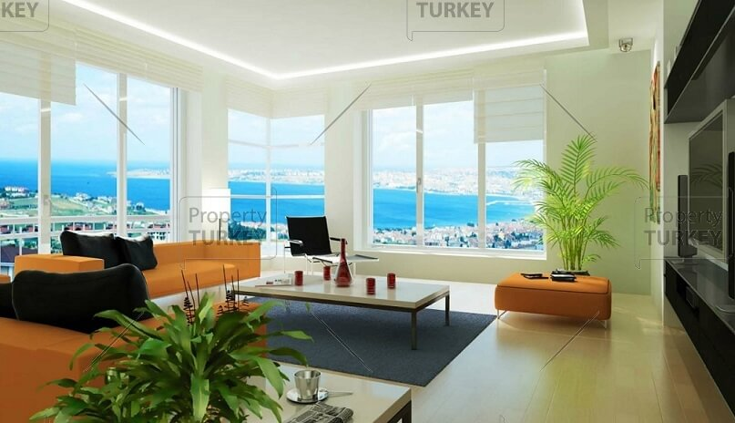 Stunning sea and lake view for Istanbul apartments