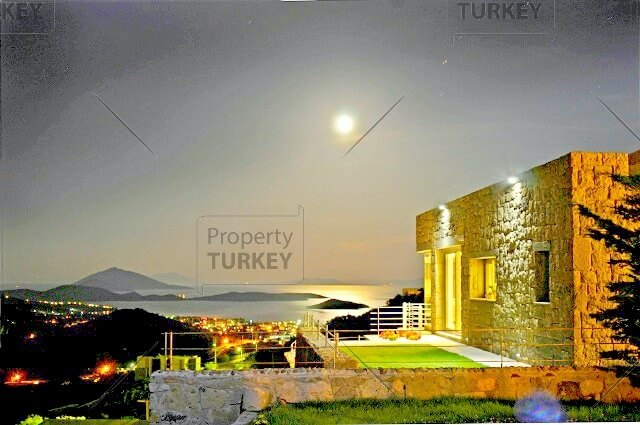 Stunning view from beautiful Ortakent Vila