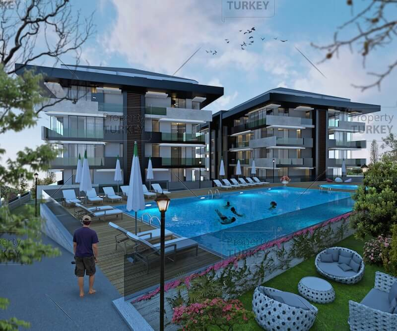 Smart apartments for sale in Sariyer