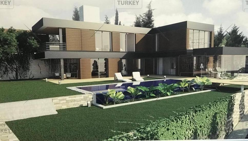 Designer Terkos Lake custom villas in Istanbul