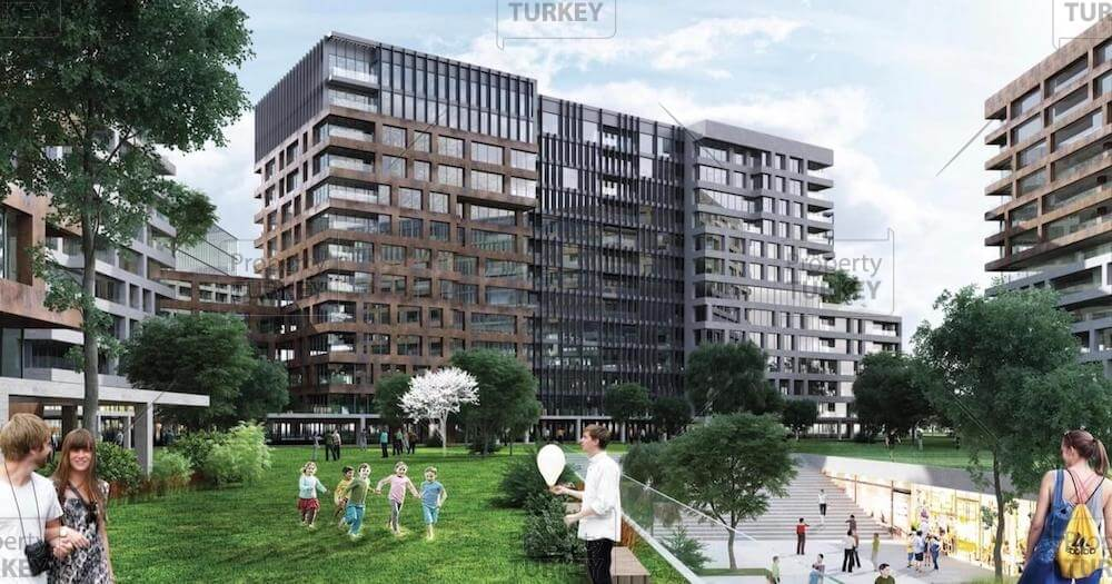 Topkapi Fatih designer central apartments for sale