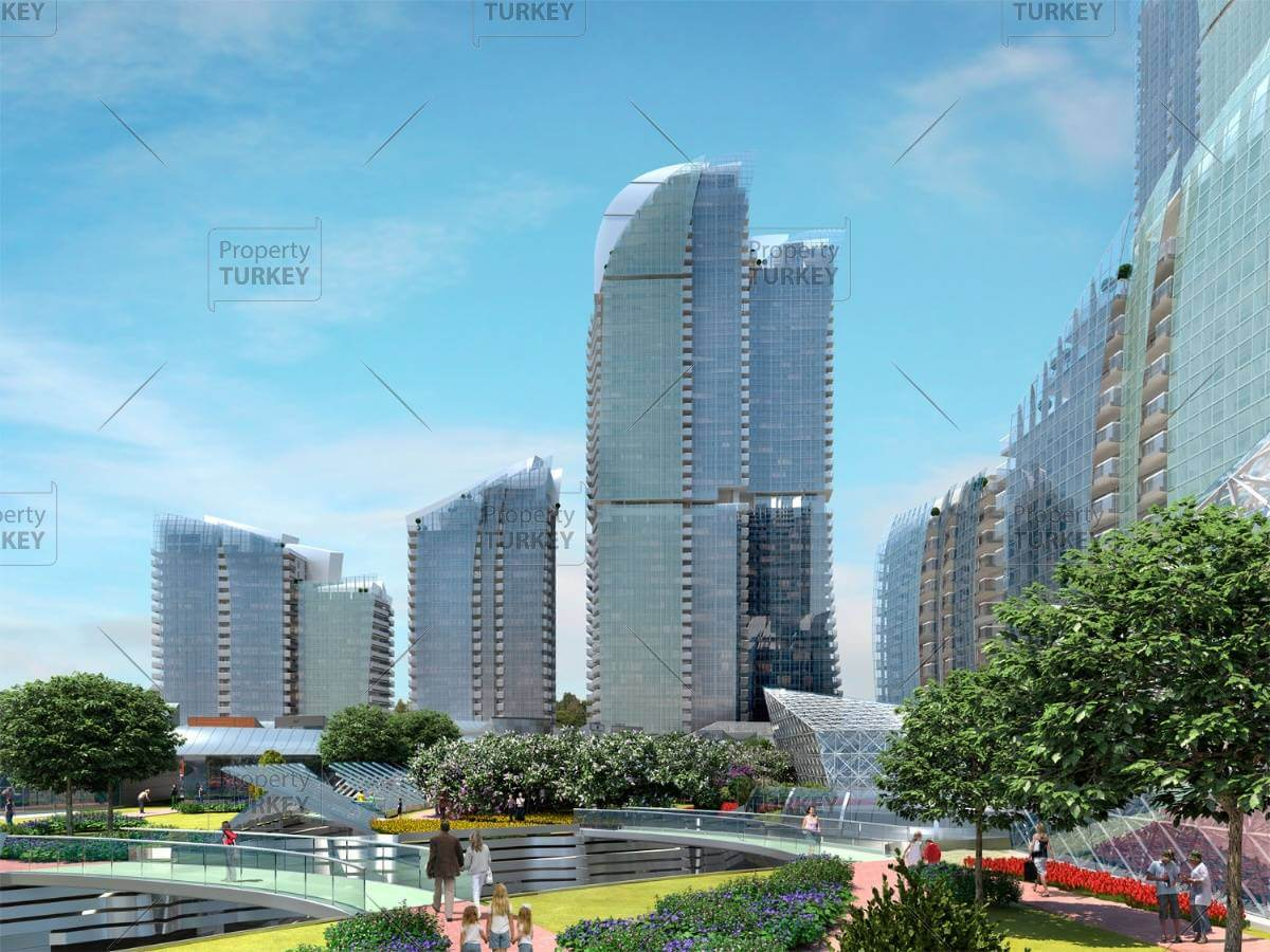 Apartments for sale in Maslak 1453