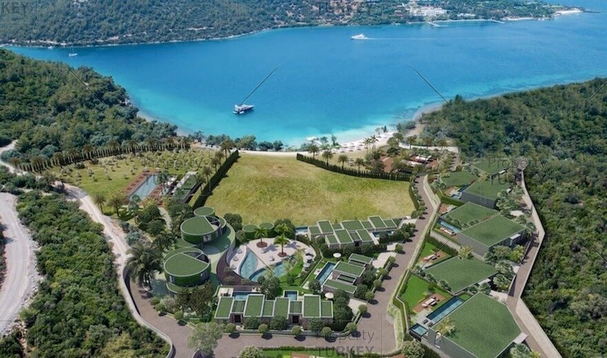 Luxury residences for sale in Bodrum bay