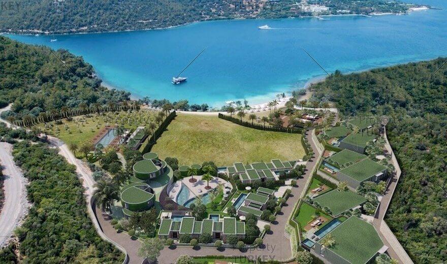 Turkbuku Bodrum luxury villas for sale