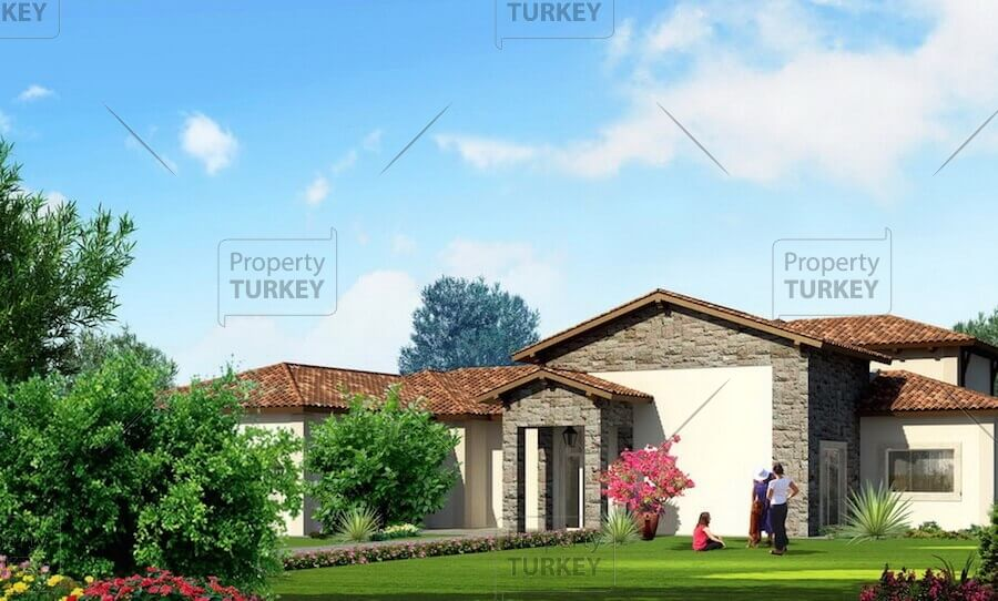 Tuscan style villas in Istanbul
