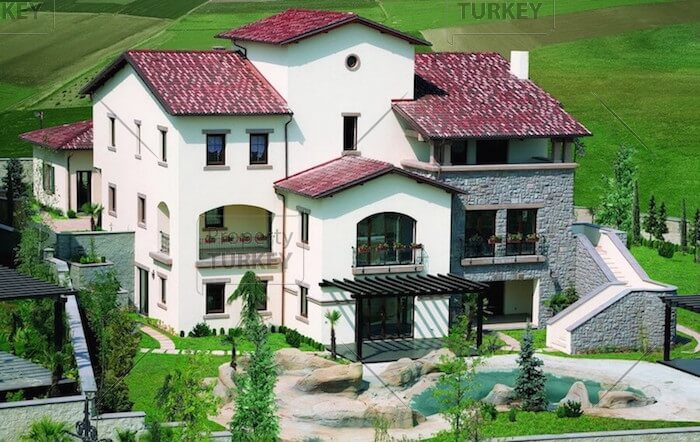 Istanbul large villa outside look