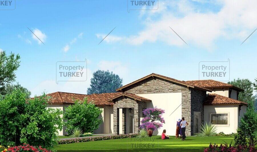 Villas with gardens